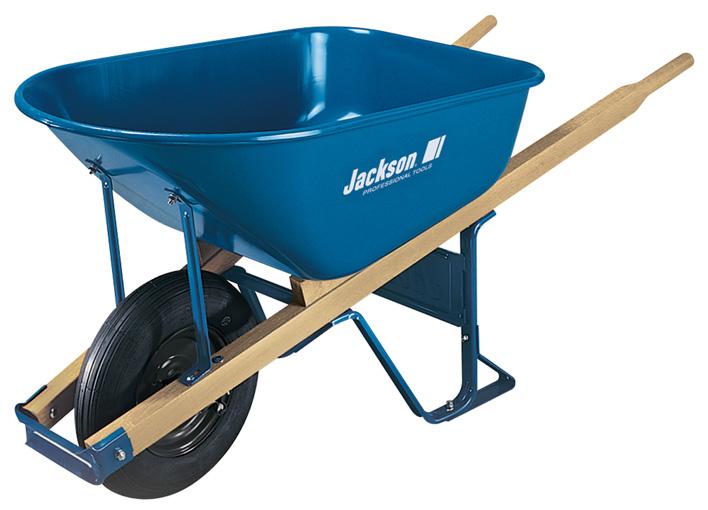 Construction grade wheelbarrow