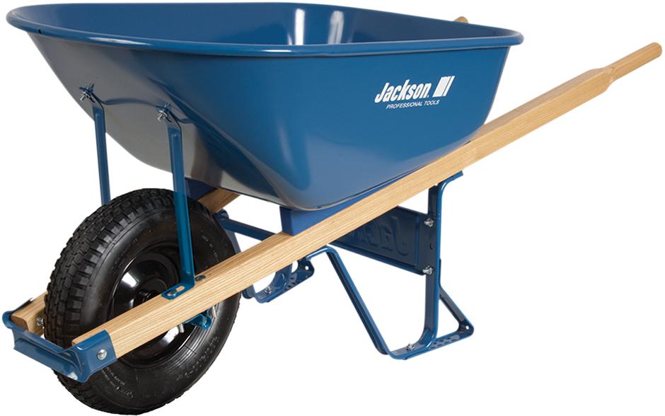 Steel Wheelbarrow with knobby tire